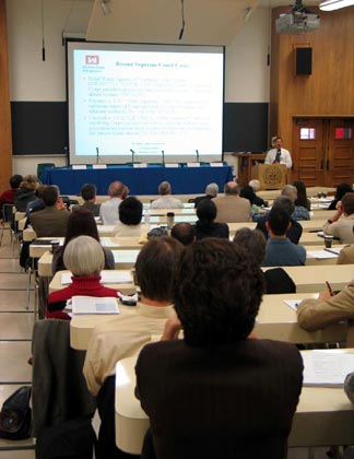 The 2006 Frankel Symposium begins.