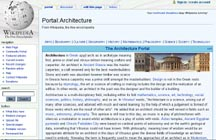 Wikipedia Architecture Portal / Urban Planning Section.