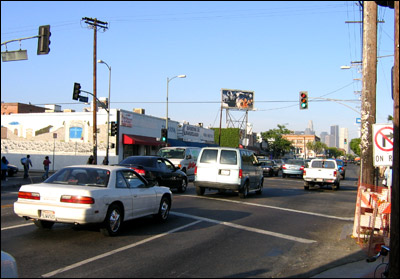 Photo: Section of Pico Boulevard