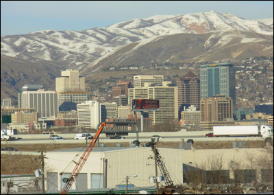 Photo: Downtown Salt Lake City, Utah