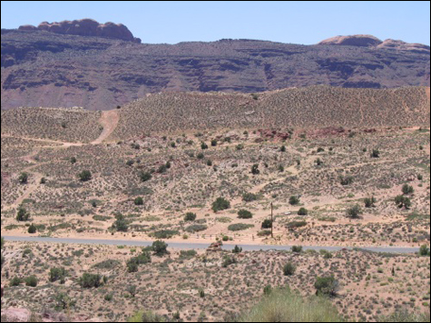 Photo: Development Site in Moab, Utah