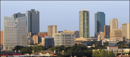 Photo: Fort Worth Skyline