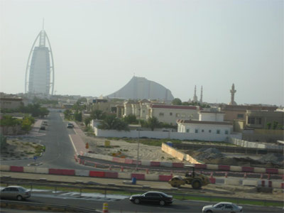 View from the Dubai Metro