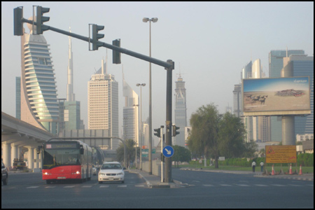Photo: Trade Centre Road, Dubai
