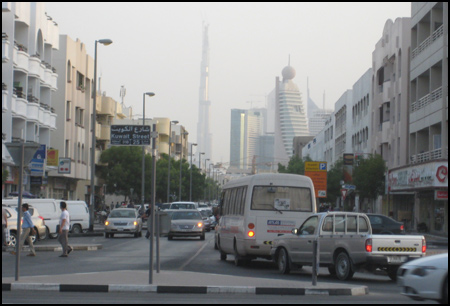 Photo: Karama Neighbourhood in Bur Dubai