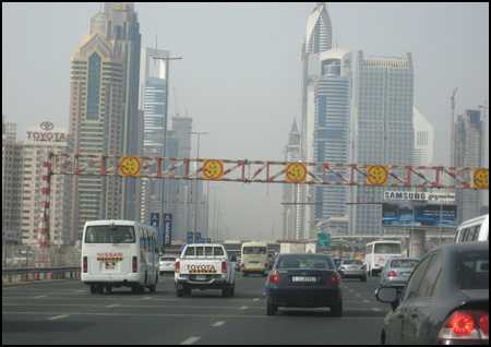 Photo: Sheikh Zayed Road, Dubai