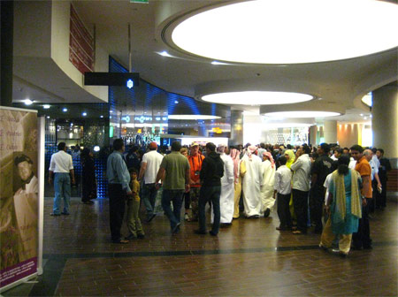 The Ground Floor ticket counter for Burj Khalifa