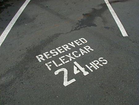 Image: Car sharing in Hoboken