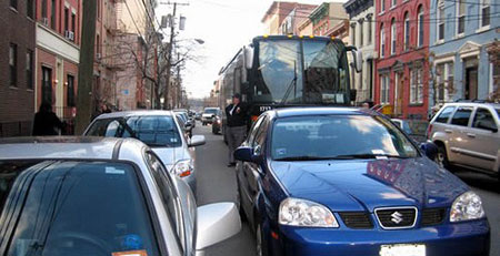 Image: Parking in Hoboken