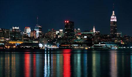 Image: View of Manhattan from Hoboken