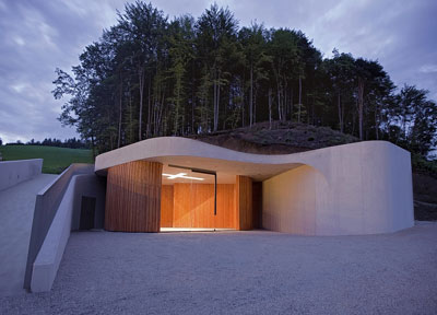 Farewell Chapel in Krasnja, Slovenia by OFIS Architects