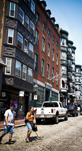 Photo: Boston's North End.