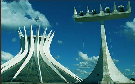 Photo: The Catedral de Brasília.