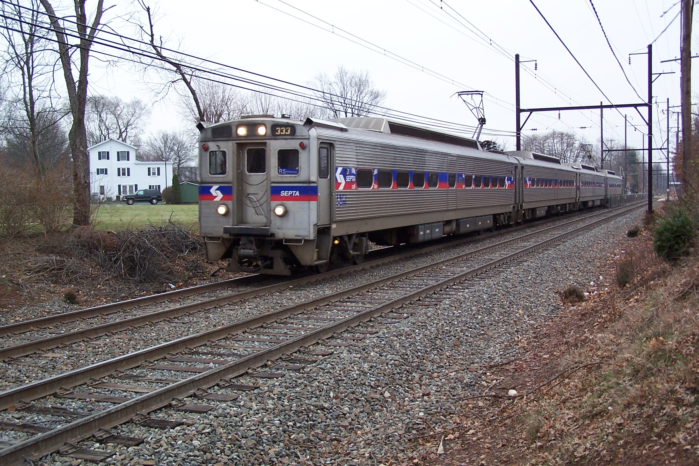 Septa trains from philadelphia to new york city