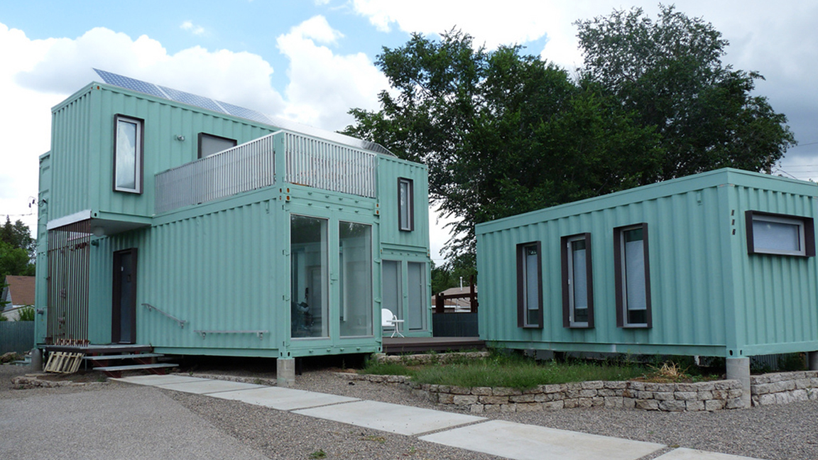 Shipping Container Home 1152 x 648