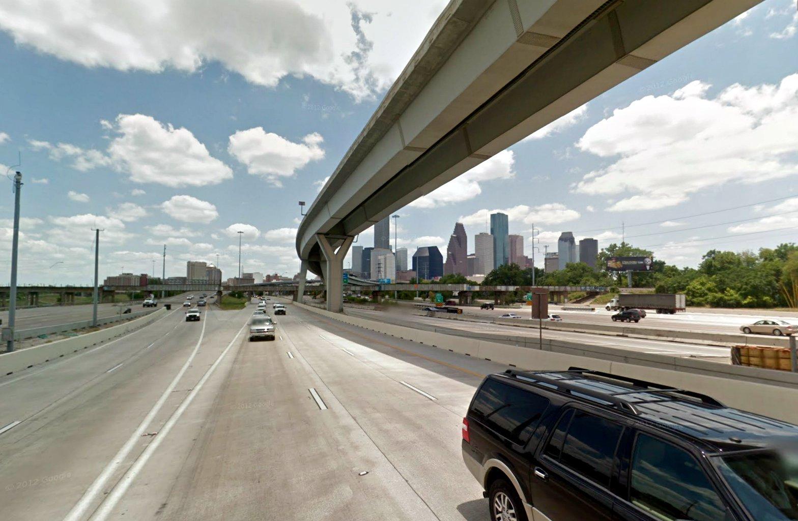 Too Big For Texas Houston S 23 Lane Freeway Planetizen