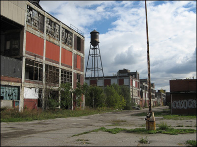 Photo: Abandone Packard Motors factory