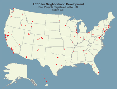 Image: Location of Pilot Projects