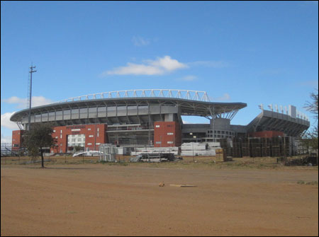 Peter Mokaba Stadium in Polokwane, South Africa