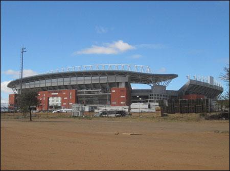 Peter Mokaba Stadium in Polokwane, South Africa