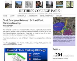 www.rethinkcollegepark.net