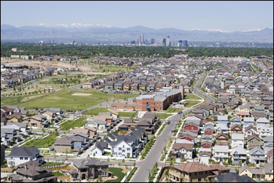 Aerial View of Stapleton