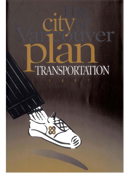 City of Vancouver Transportation Plan report cover image 1997