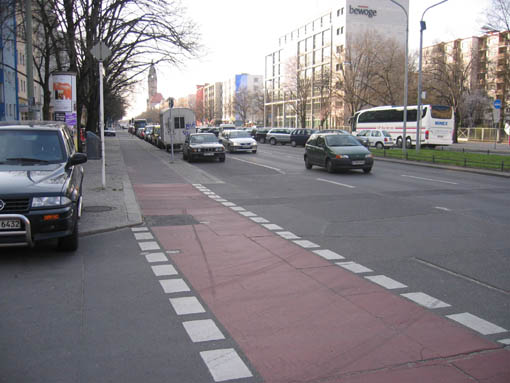 Berlin Bike Lane