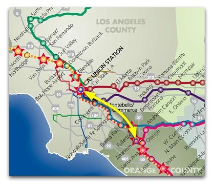 Amtrak Los Angeles Map.Amtrak Los Angeles Map
