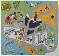 Lekplats Play Mat (City image)