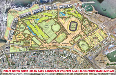 Cape Town Infrastructure and Stadium Plans