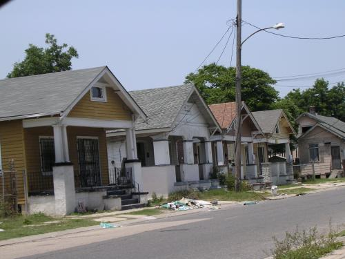 Unoccupied Houses