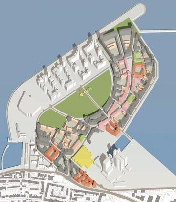 Robert Adam, Masterplan for Western Harbour at Leith, Edinburgh, 2005
