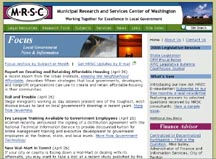 Municipal Research and Services Center of Washington.