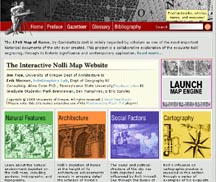 Interactive Nolli Map.