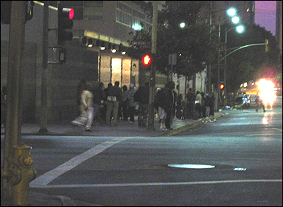 The Midnight Mission in Skid Row