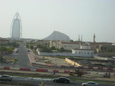 View from the Dubai Metro