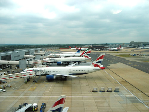 Photo: Planes on the Tarmac