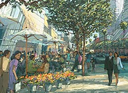 Rendering of Grand Avenue Project