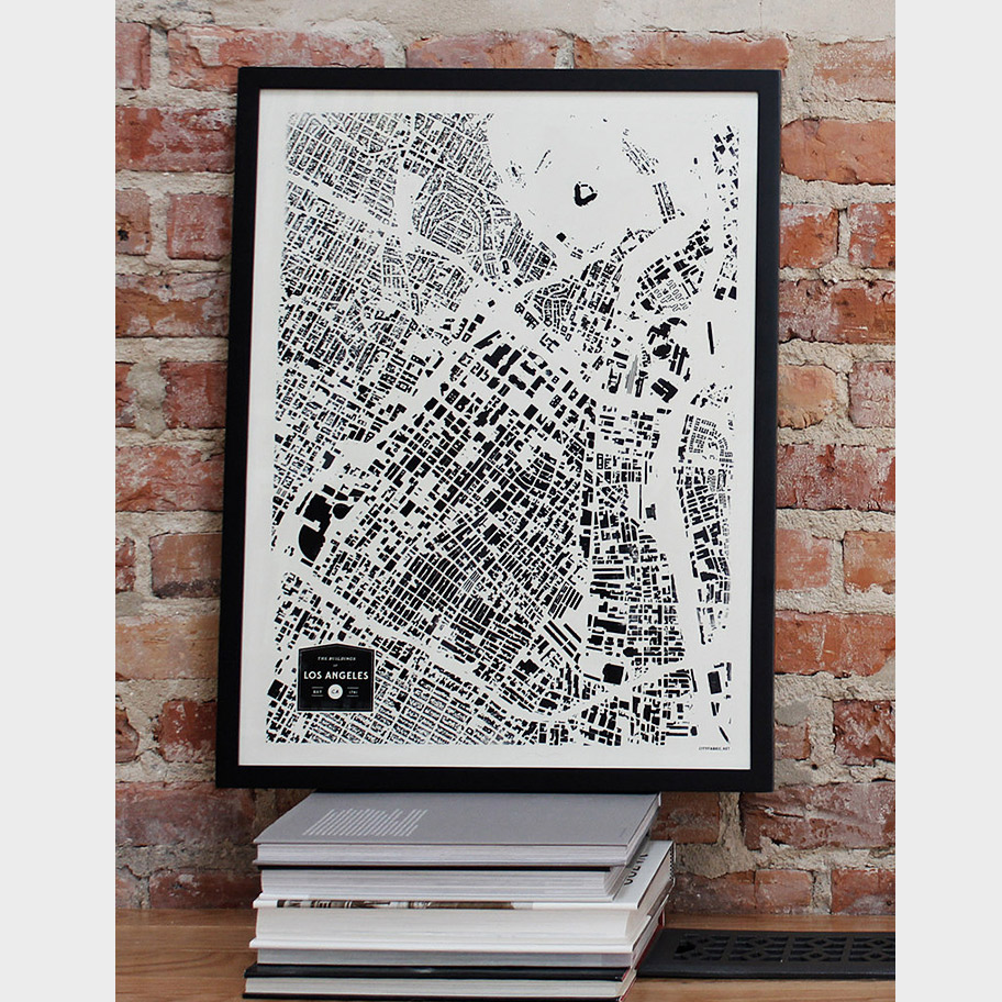 City Poster Los Angeles Planetizen The Independent Resource - Los angeles poster black and white