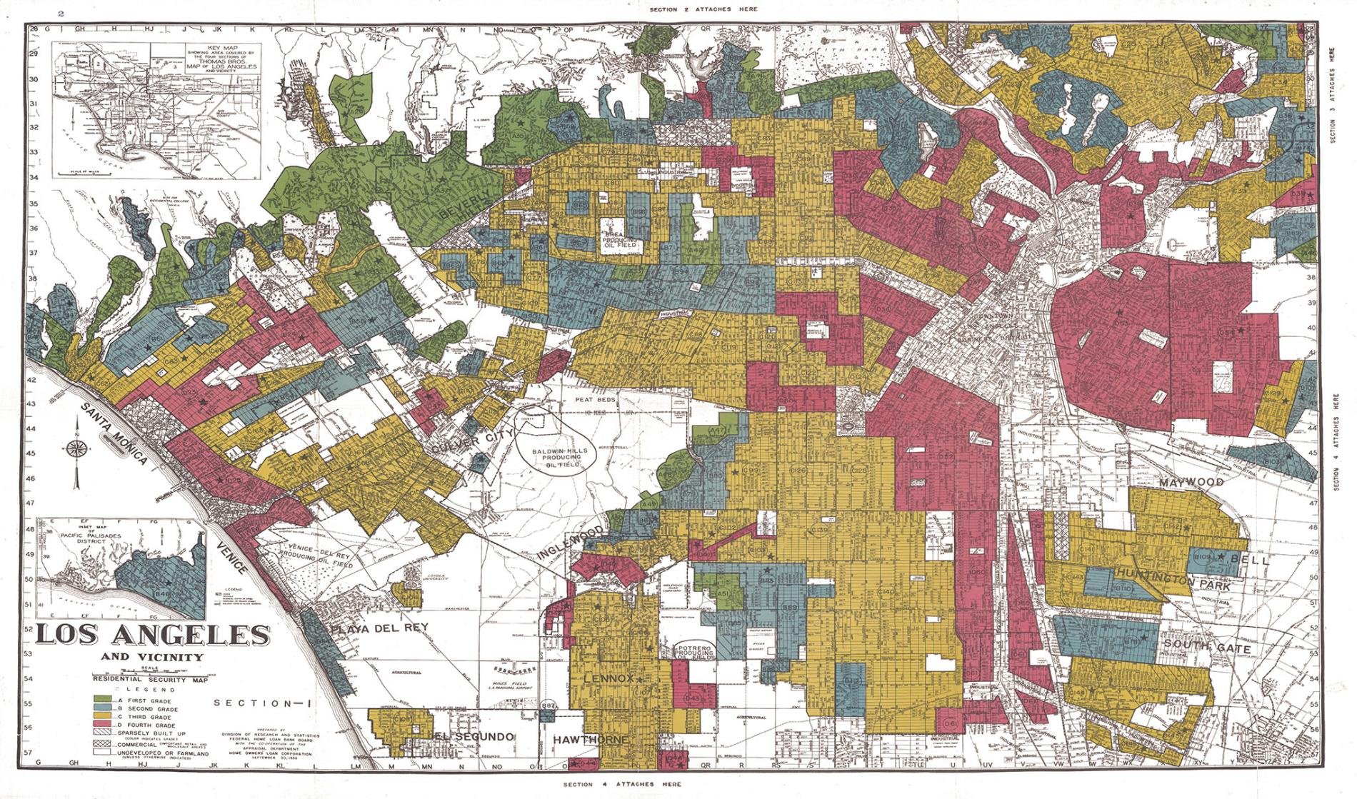 New Mapping Tool Illuminates the Consequences of Redlining - News | Planetizen