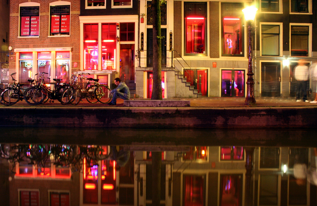 A forced gentrification may end amsterdams red light district