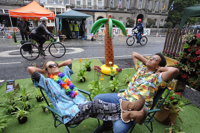 The Surprising Benefit of Pop-Up Parks to Bio-Diversity