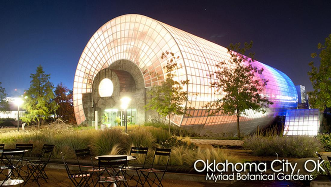 Myriad Botanical Gardens In Oklahoma City Awarded Uli 39 S