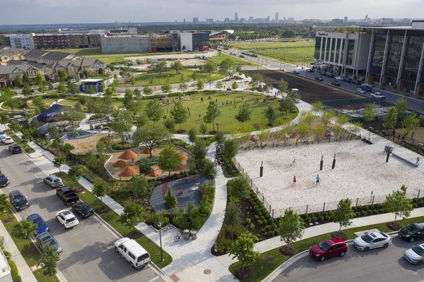 Trends in Community Park Landscape Design and Planning