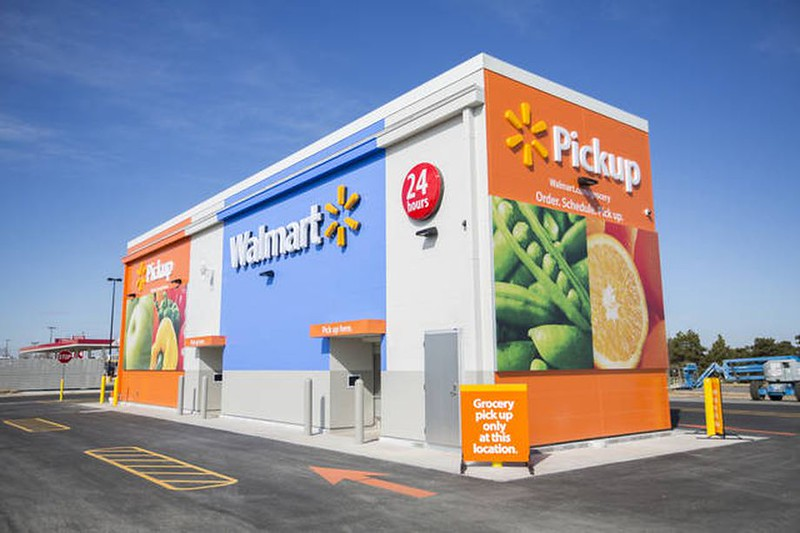 Walmart Takes On Amazon By Testing Out Grocery Pickup