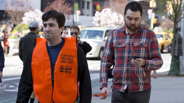 Friday Funny: The Solution for Distracted Walking