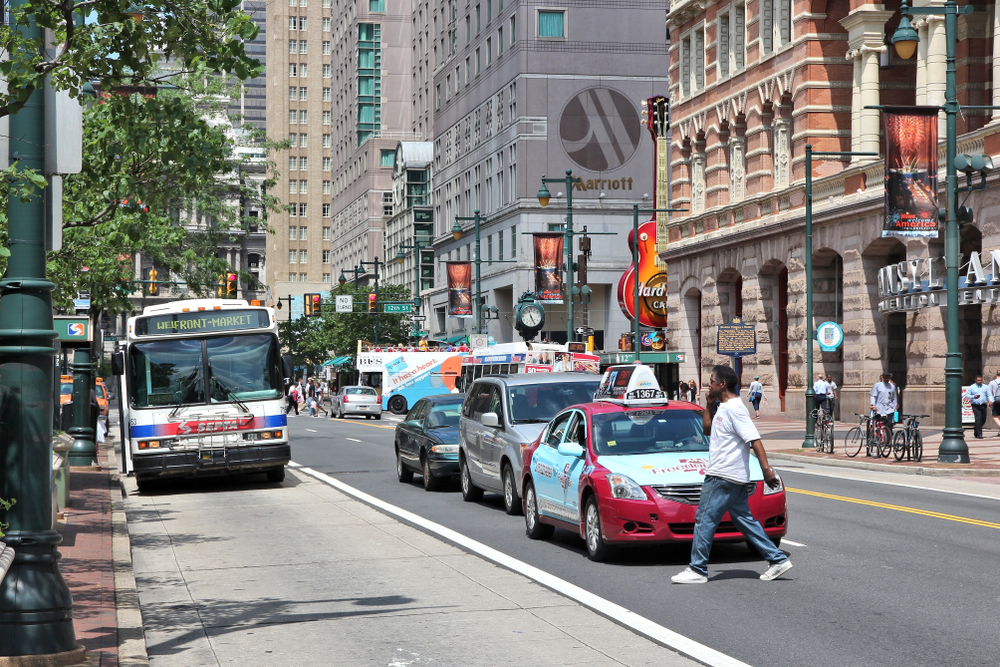 Bus System Redesign Revealed in Philadelphia