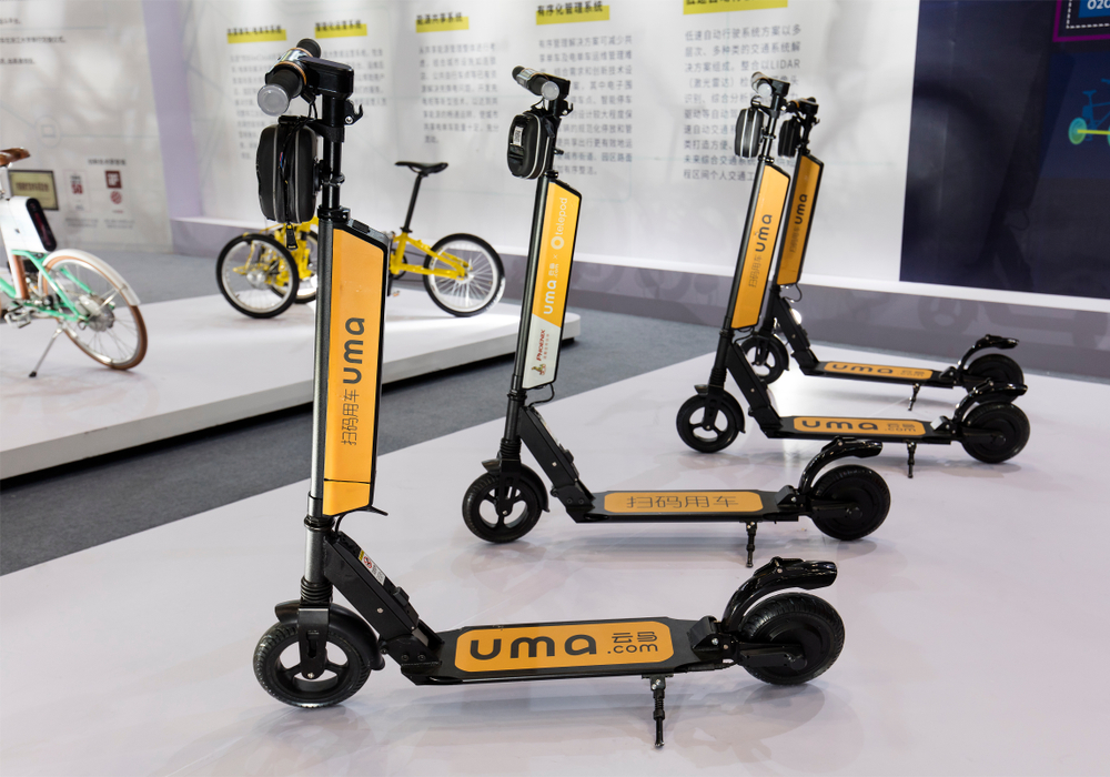 Dockless Electric Scooter Share On The Rise News