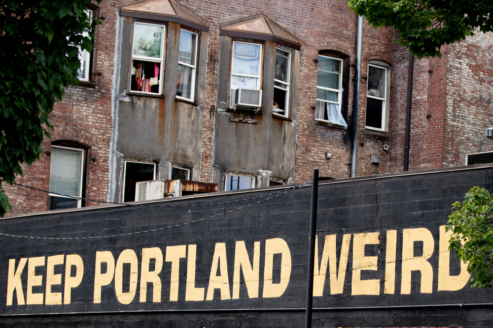 Keep Portland Weird mural - image link to source article